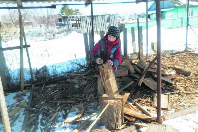 Жители Дона до сих пор топят дома дровами