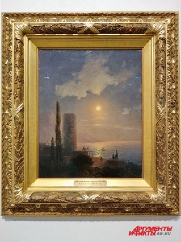 Иван Айвазовский – маринист, всегда уделяющий пристальное внимание в своих картинах моры и небу. Его работа «Алушта» - не исключение.