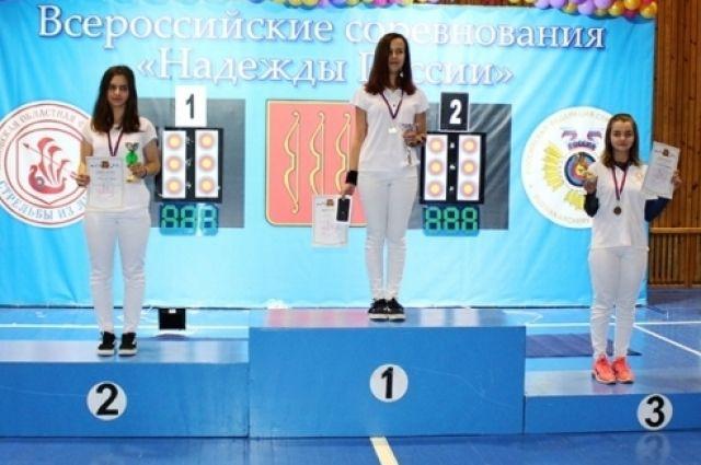 Екатеринбургская лучница Лилия Ульянова (СО Евразия, ДЮСШ «Виктория») завоевала первое место в стрельбе из блочного лука.