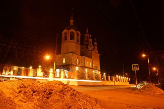 Кафедральный собор Успения Пресвятой Богородицы в г. Енисейске.