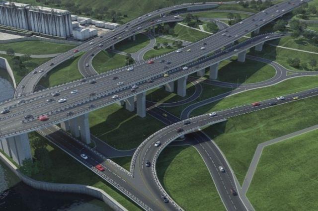 Новая развязка разгрузит красноярские дороги