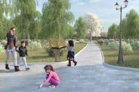 Концепция благоустройства Детского Черкизовского парка.