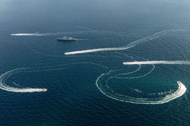 Задержание украинских военных кораблей у берегов Крыма.