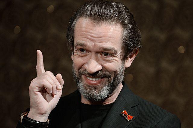 Художественный руководитель московского театра-студии «Табакерка» Владимир Машков.