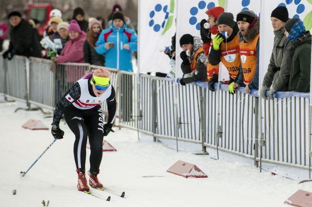 Преодолеть финишную прямую спортсменам помогла поддержка