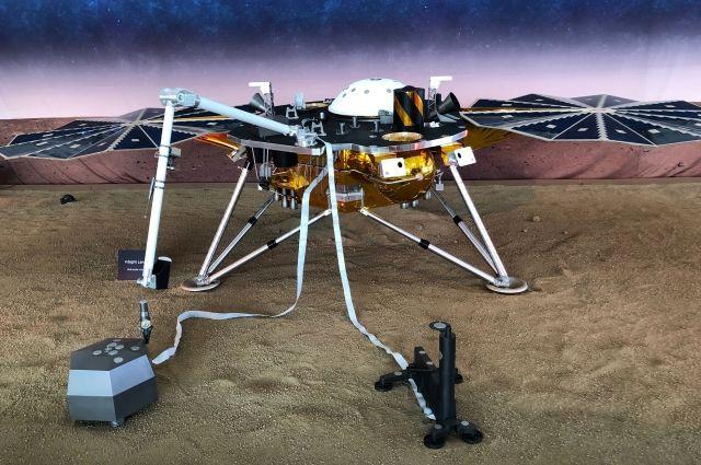 Аппарат InSight совершил успешную посадку на Марсе - Real estate