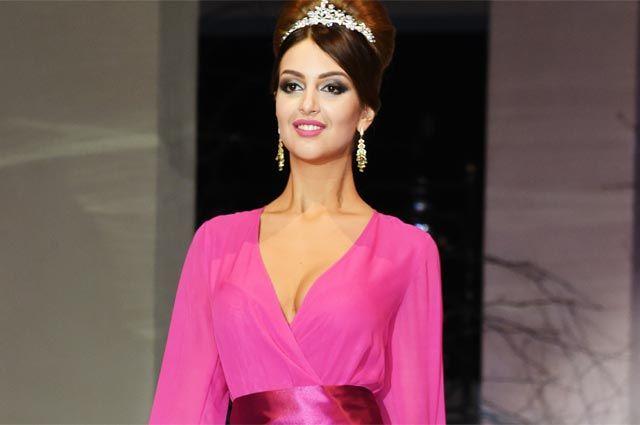 Победительница конкурса «Мисс Москва-2015» Оксана Воеводина.