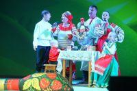 Дети в семье Муха -  с рождения на сцене.