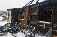 Тот самый сгоревший дом.