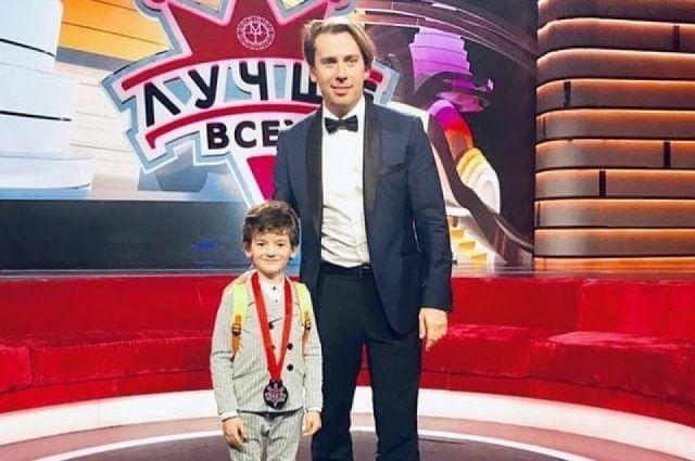7-летний Миша Мяло принял участие в программе Первого канала.