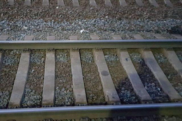 На железнодорожных путях в Перми произошло ДТП.