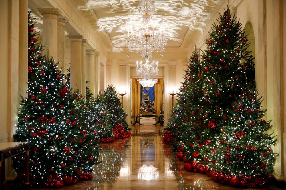 Кросс холл Белого дома.