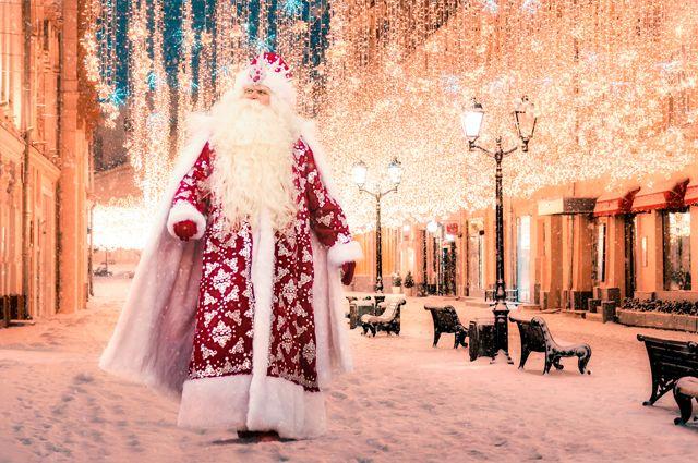Вера в Деда Мороза живёт в детском сердце очень недолго.