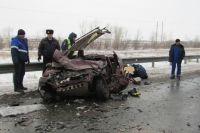 В Сорочинском ГО из-за смертельного ДТП было остановлено движение на трассе