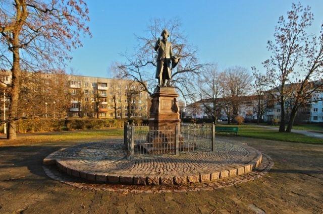 Памятник Канту в Калининграде.