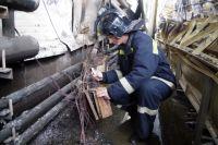 На месте пожара эксперт видит, откуда и как распространялся огонь.