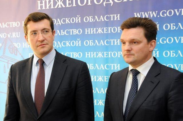 Глеб Никитин и Николай Подгузов.