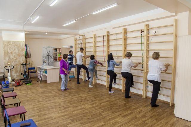 Обновленный кабинет лечебной физкультуры открылся в поликлинике Братска.