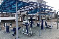 На спортплощадках можно тренировать все группы мышц.