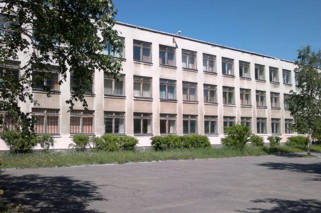 Северодвинская школа №19, где и произошёл инцидент.