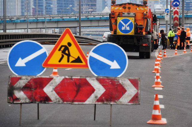 С 30 декабря во время ремонта дороги проезжая часть может быть закрыта для проезда не более чем на 50%.