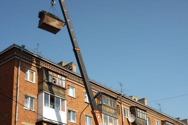 Из-за ремонта крыш некоторые квартиры оказались затоплены.