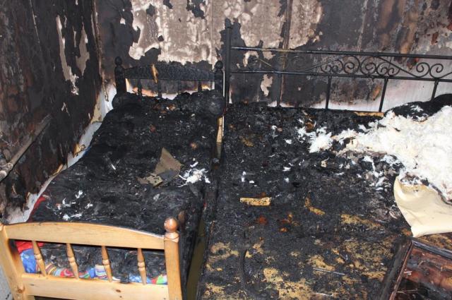 Четверых детей спасли при пожаре частного дома в Ямальском районе