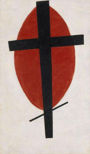«Мистический супрематизм» (1920-1922), Казимир Малевич. Другая его работа несколько месяцев спустя была продана на том же аукционе за 37,7 млн долларов.