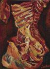 «Бычья туша» (1923), Хаим Сутин. Сутин — один из ярких представителей «Парижской школы». В 2015 году на аукционе Christie's одна из его работ была продана за 28,2 млн долларов.