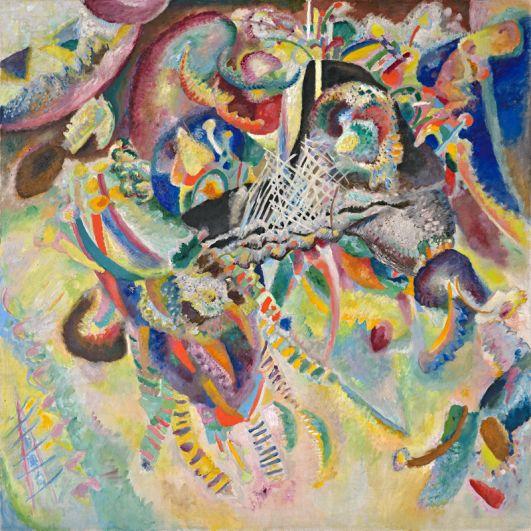 «Фуга» (1914), Василий Кандинский. Кандинский — один из самых известных и дорогих русских художников. В 1990 году на аукционе Sotheby's его «Фуга» была продана за 20,9 млн долларов. Картину приобрел швейцарский коллекционер Эрнст Байлер.