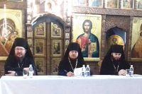 Заседание секции в Свято-Троицком Холковском мужском монастыре.