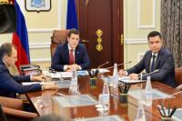 На Ямале полпред в УРФО Николай Цуканов провел личный прием