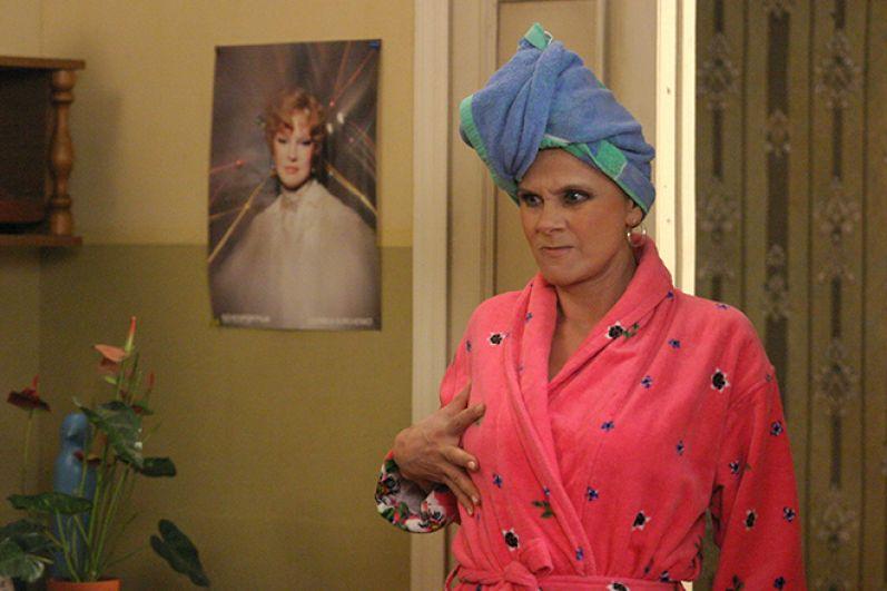 Настоящая оглушительная слава к актрисе пришла в 2004 году, когда она получает роль мамы Вики Прутковской в сериале