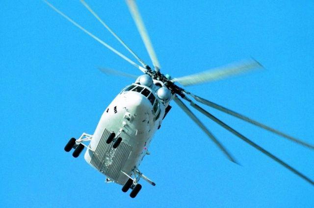 Вертолет компании UTair Ми-26 не долетел до посадочной полосы 600 м.