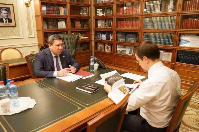 Владимир Полетаев встретился с министром культуры России