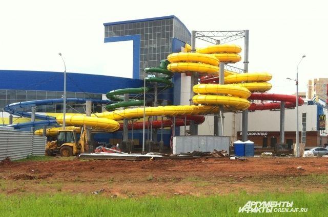 Постройкой аквапарка начнут уже летом 2019