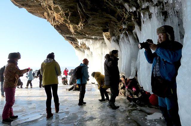 Иностранцы едут на Байкал  круглый год.