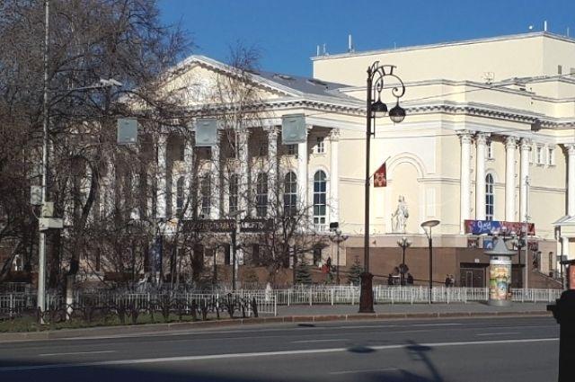 Тюменский драм театр заявку на грант не подавал