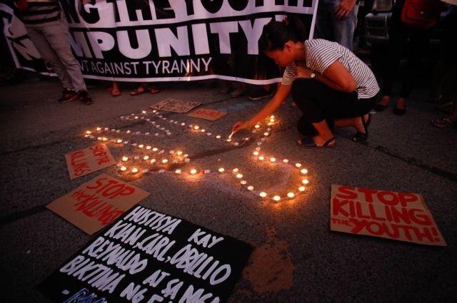 На Филиппинах осудили полицейских за убийство в ходе борьбы с наркотиками