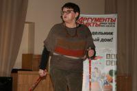 Ирина Вдовина рассказала будущим медицинским работникам о преимуществах скандинавской ходьбы.