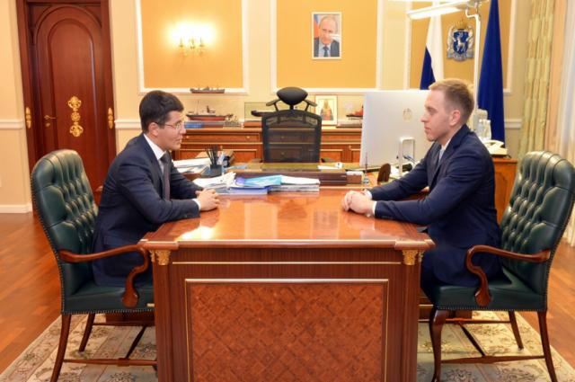 Губернатор Ямала обсудил госзакупки с главой департамента госзаказа