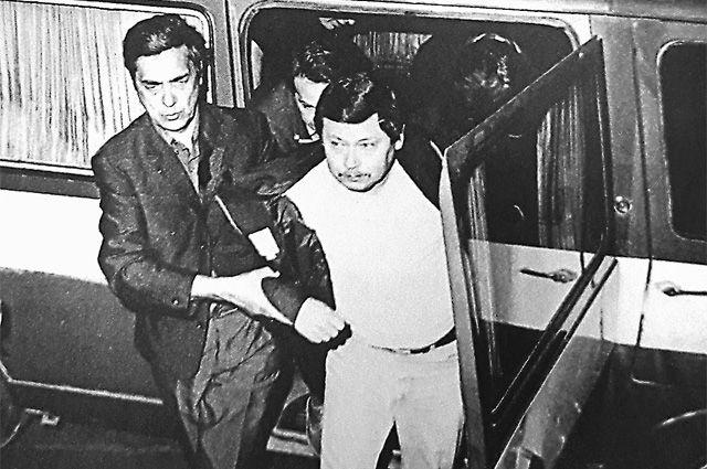Задержание сотрудника ЦРУ Томаса (1983 г.).
