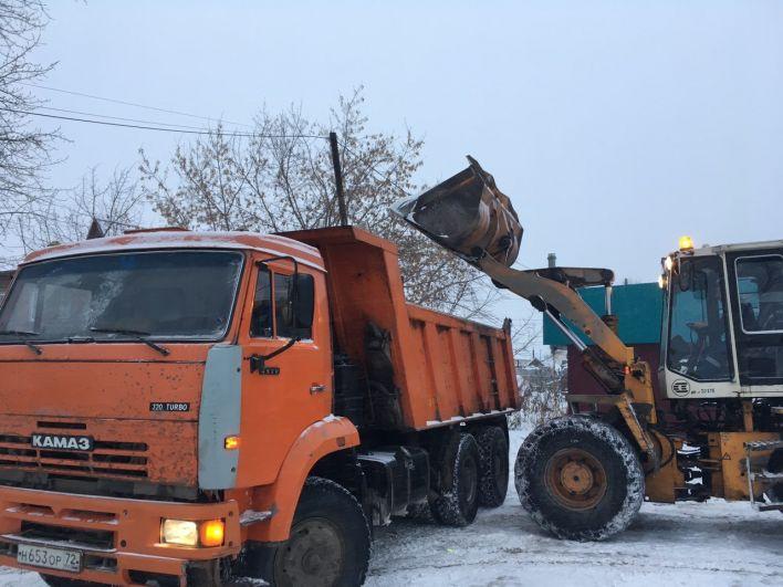 Снегоуборочная техника, Тюмень, 2018.