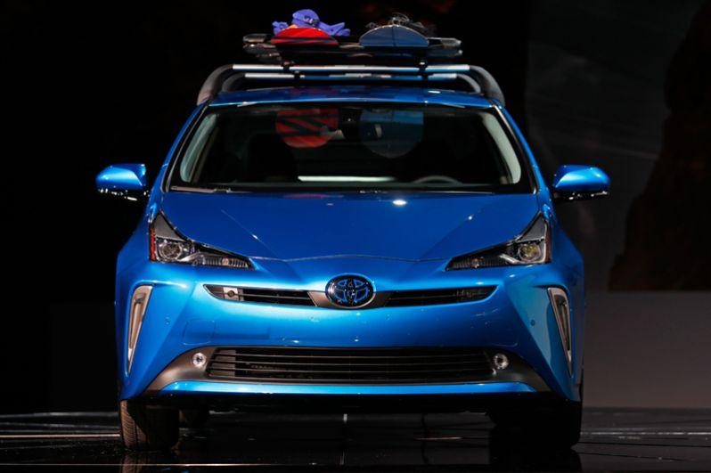 Гибрид Toyota Prius.