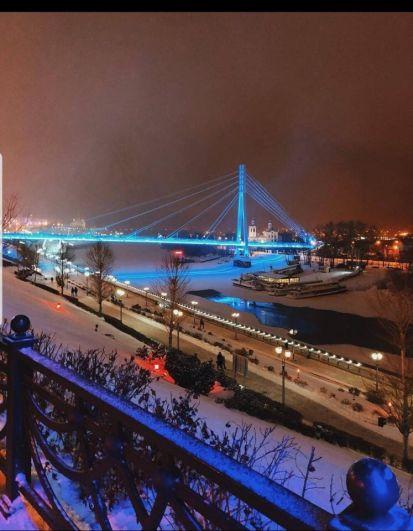 Мост Влюбленных, Тюмень.
