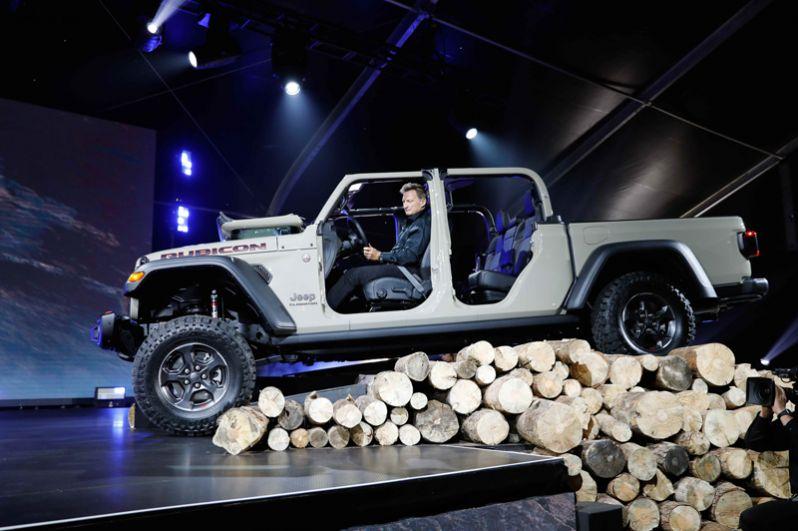 Внедорожник Jeep Gladiator Rubicon.