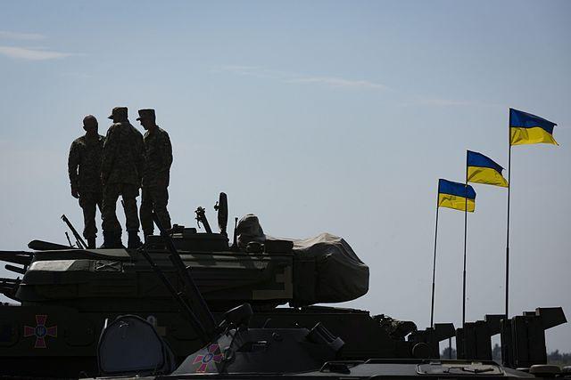 ВАзовском море прошли очередные украинские военные учения