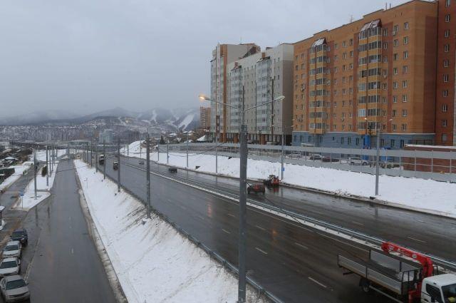 Открытие развязки на улице Волочаевская завершило долгий период строительства на левом берегу Енисея.