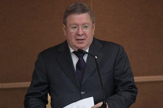 Зампредседателя ЦБ РФ Александр Торшин уходит на пенсию