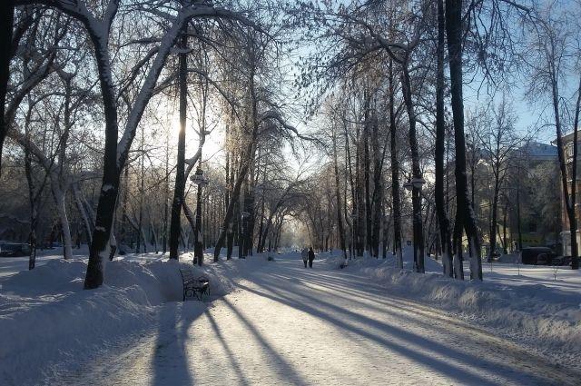 Морозы, похоже, к концу выходных дней слегка отпустят Оренбуржье.